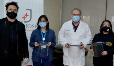 Design Lab UAI realiza segunda donación de escudos faciales