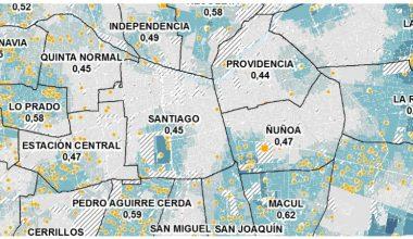 Indicadores de bienestar territorial: investigación aplicada a evidencia