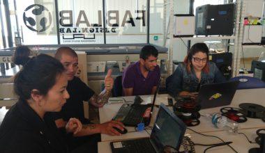 Intercambio colaborativo entre Fab Lab y Municipalidad de Peñalolén